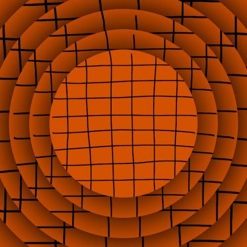 Orange Grid Discs