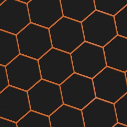 Orange Hex Net