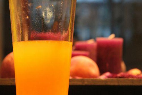 orange juice orange glass