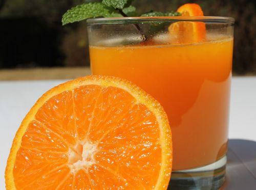 orange juice vitamin c fresh