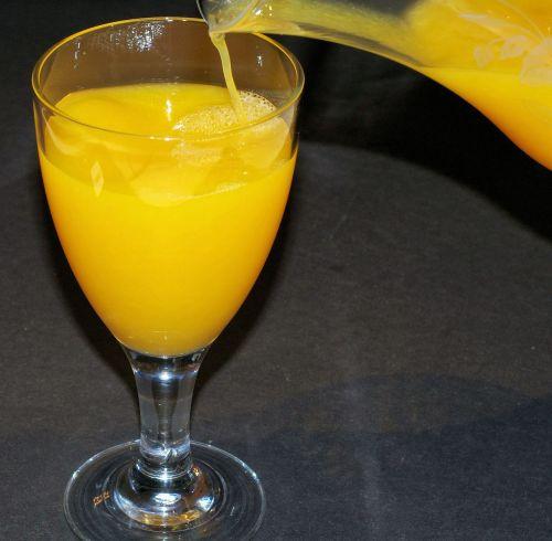 orange juice fresh fruit