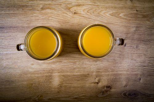 Orange Juice And Apple Juice