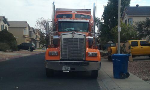 Orange Kenworth