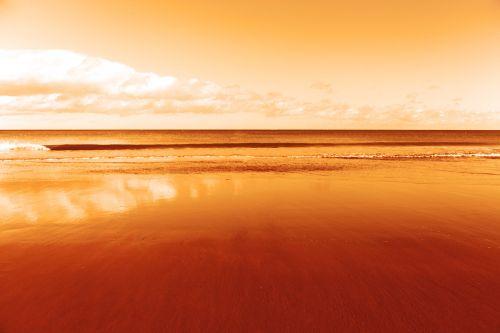 Orange Ocean View