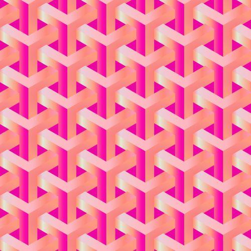 Orange Pink Gradients Pattern