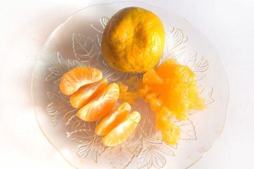 Orange Plate 1