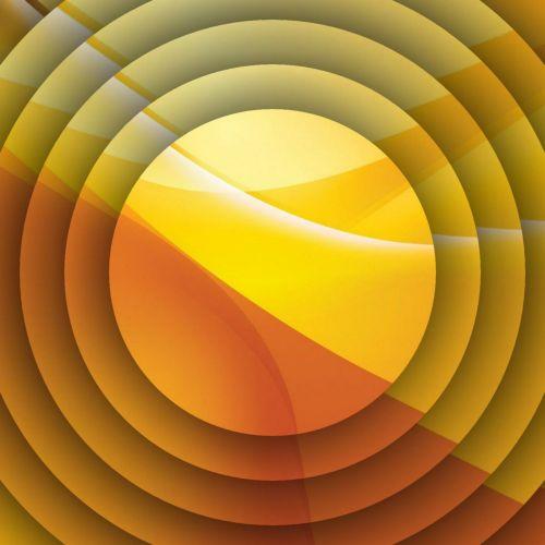 Orange Yellow Discs
