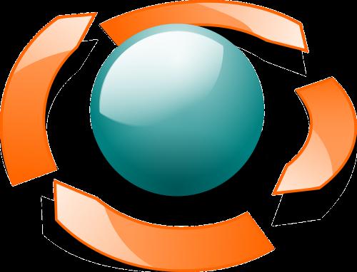 orbit arrows ball