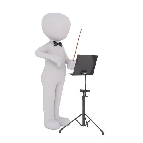 orchestra orchestra pit conductor