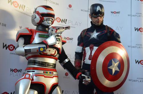 order to turn its captain america geek