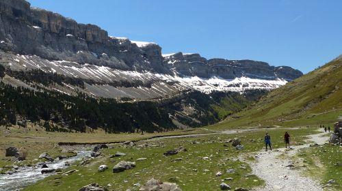ordesos slėnis,Ispanija,Pirėnai,ordeso slėnis,gamta