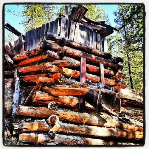 ore chute wood
