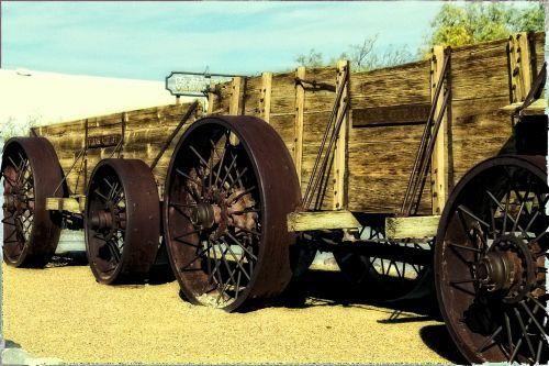 ore wagon steam tractor