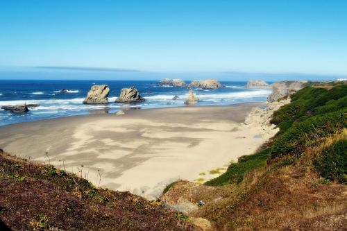 oregon beach sand