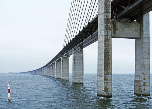 oresund bridge eastern ramp sweden
