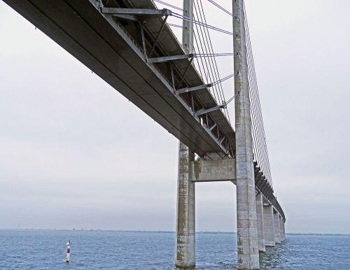 oresund bridge baltic sea the sea crossing