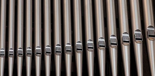 organ pipes church
