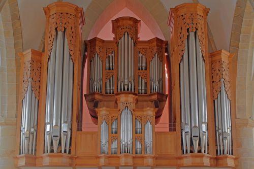 organ church organ hillebrand