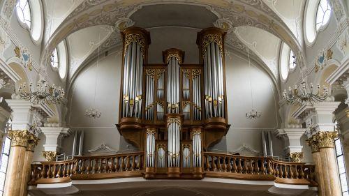 organ church architecture