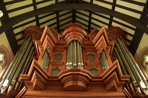 organ gothic musical instrument symmetry