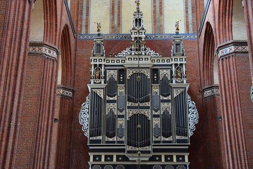 organ  nikolai church  wismar