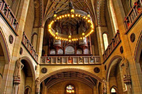 organ church instrument lutherstadt wittenberg