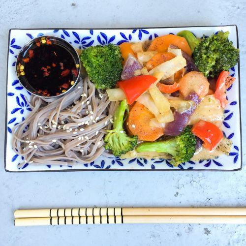 organic noodles asian food