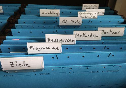 organization register folder