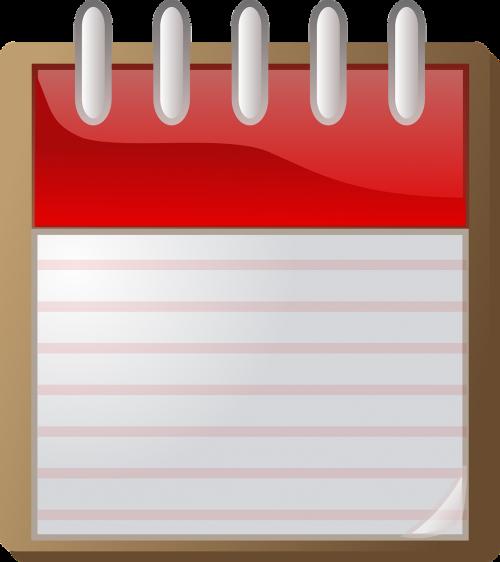 organizer notepad spiral