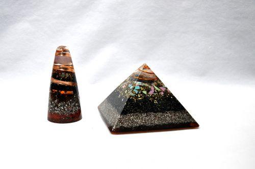 orgone cone pyramids