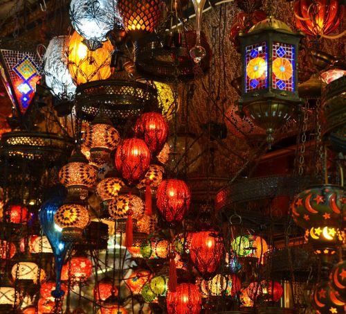 orient bazar lamps