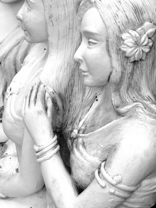 Oriental Statue Of Women
