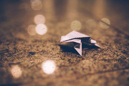 origami paper blurry
