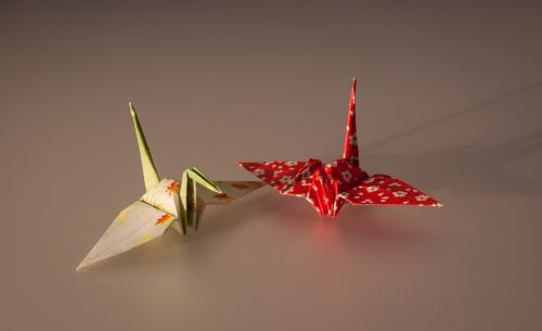 origami folded paper