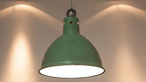 original factory pendant light enamel green enamel
