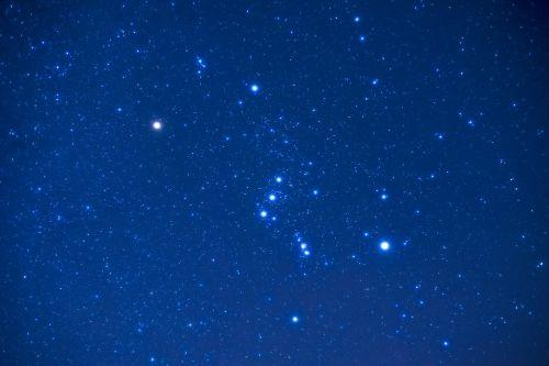 orion night star