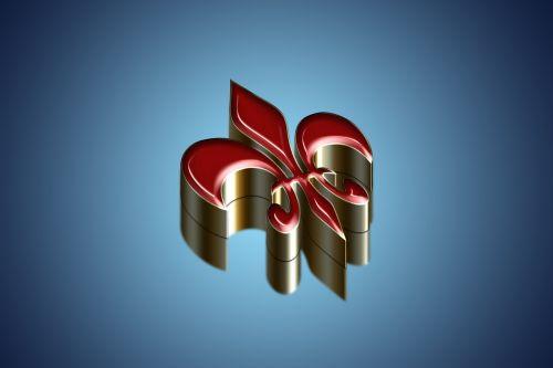ornament 3d 3 dimensional