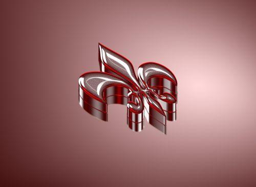 ornament three dimensional symbol
