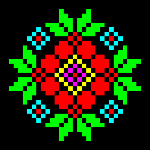 ornament textile embroidery pattern