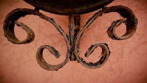 ornament iron sheet mount