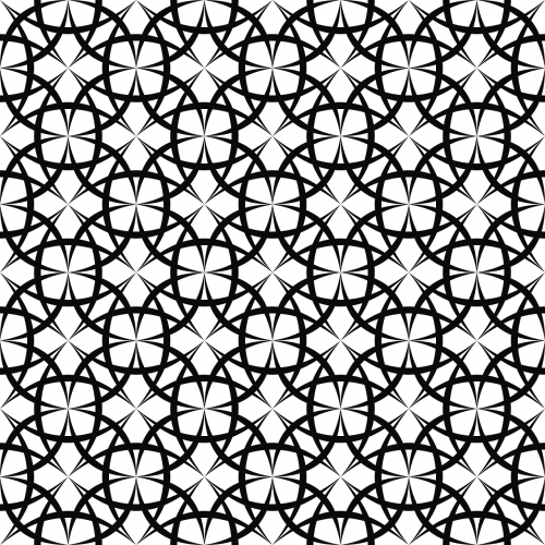 ornament motif curved