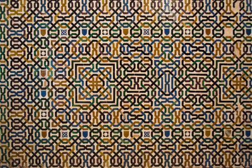 ornament pattern arabian nights