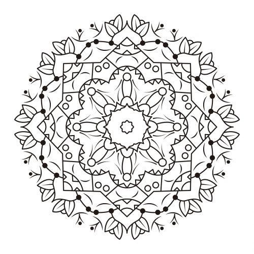ornament illustration flowery