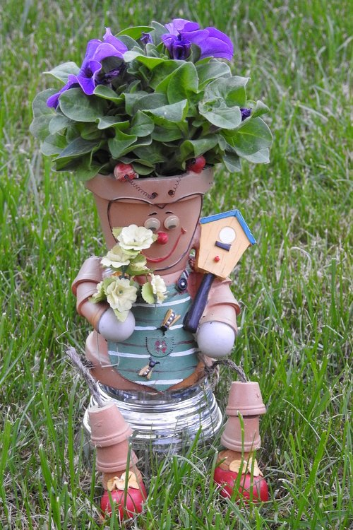 ornament  flower pot  garden