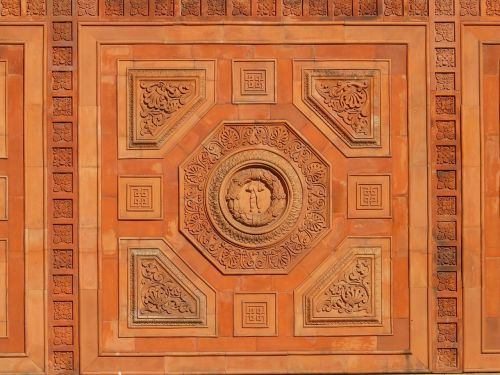 ornament oriental paneling