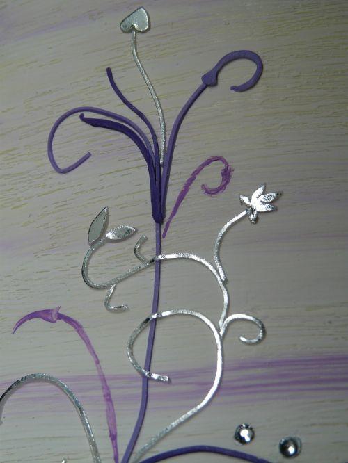 ornament heart curlicue