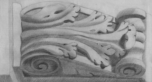 ornament capital relief