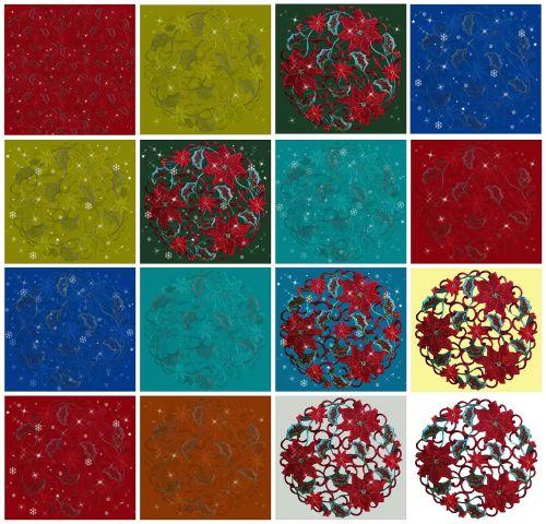 ornaments free desktop wallpapers wintry