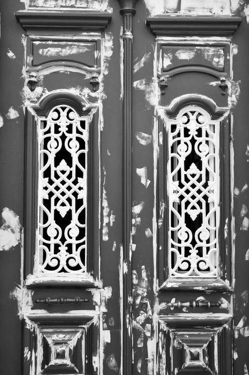 ornate architecture door