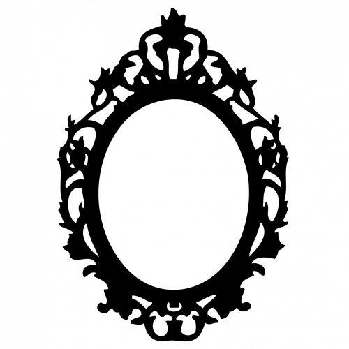 Ornate Black Frame Clipart